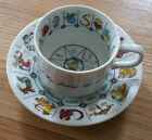 Vintage Fortune Telling Tea Cup and Saucer Set - Made in Japan Astrology