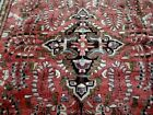 8X11 1940's BREATHTAKING FINE  ANTIQUE HAND KNOTTED  WOOL LILIHAN PERSIAN RUG