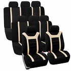 3 Row Sports Design Seat Covers Full Set For 8 Seaters Suv Van 5 Colors