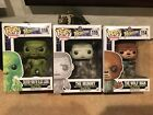 Funko Pop WOLF MAN, THE MUMMY and CREATURE FROM THE BLACK LAGOON. Free Shipping!