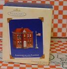 Schoolhouse and Flagpole #5 in Town and Country Series 2003 Hallmark MIB