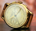 BEAUTIFUL CHRONOGRAPH CONSTANTIN PARIS IN GOLD PLATED CASE FROM 1950's