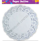 40 X WHITE ROUND PAPER DOILIES 9.5 INCH LACE 24CM PARTY CELEBRATIONS BIRTHDAY