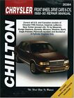 DODGE Daytona Dynasty Monaco Shadow Spirit Service Manual 1988 ~ 1995 1994 1993