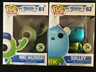 FUNKO POP! DISNEY MONSTERS UNIVERSITY MIKE WAZOWSKI AND SULLEY 2013 SDCC FIGURES