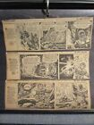 1950s SPACE CADET Cliiped Comic Strip LOT of 42 VG VG+ by Ray Bailey