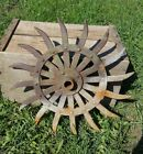Vintage IRON DAISY WHEEL 19