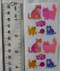 Sandylion OPAL CATS KITTENS Strip of Vintage Stickers RETIRED SUPPER RARE