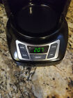 BlackDecker Coffee Maker Digi 12 Cup Progrm Black CM1160BNOT WORKINGNO CARAFE