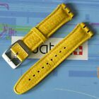 Swatch Leather 19 mm Replacement Strap Band High Flyer