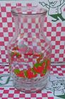 Vintage Glass Anchor Hocking American Greetings Strawberry Shortcake Pitcher