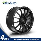 4PC 17X7 Wheel +45 Offset 5x100 5x1143 Rims For Acura CL Integra MDX NSX RSX TL