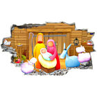J010 Nativity Religion Christmas Wall Stickers Bedroom Girls Boys Kids Room