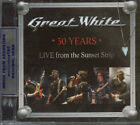 GREAT WHITE 30 YEARS LIVE FROM THE SUNSET STRIP SEALED CD NEW 2013