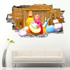 J010 Nativity Religion Christmas Wall Stickers Bedroom Girls Boys Living Kids