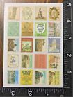 ITALY TRAVEL STICKERS STAMPS DESIGN ONE SHEET BEAUTIFUL STICKERS ITALY9