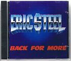 Eric Steel - Back for More - Eric Steel CD 81VG The Fast Free Shipping