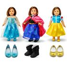 Fits American Girl 18 Princess Dress 18 Inch Doll Clothes Costume Outfit