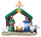 GEMMY INDUSTRIES Airblown Christmas Decoration Nativity 56 In 87876