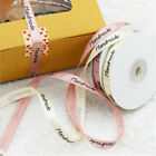 Wedding Party Supplies Satin Ribbon Pink Color Gift Wrapping Handmade Silk