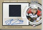 Connor McDavid Autograph 1 5 AU AUTO 14-15 Heroes & Prospects Jersey Gold Oilers
