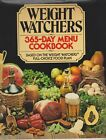 Weight Watchers 365 Day Menu Cookbook Hardcover Diet Cooking 1981
