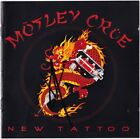 MOTLEY CRUE New Tattoo - VINCE NEIL Shout at the Devil Too Fast Autograph SIGNED