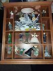 Franklin Mint Wizard of Oz Figurine Sculpture Set with Display Shelf