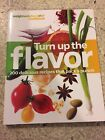 Weight Watchers TURN UP THE FLAVOR 360 Cookbook Like new 200 recipes