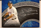 JOHNNY DAMON 2017 TOPPS FIVE STAR SILVER SIGNATURES ON CARD AUTO 20