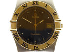 Omega Constellation 1431 Stahl/750-Gold Herrenuhr Quarz