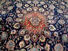 9X12 1940's BREATHTAKING MINT ANTIQUE HAND KNOTTED 200+KPSI SAROUK PERSIAN RUG