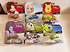 Hot Wheels Set of 6 Disney 1 64 Character Cars Collectible Die Cast Cars IN HAND