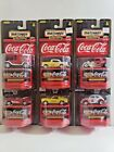 MATCHBOX COLLECTIBLES COCA COLA COMPLETE SET OF 6 VEHICLES LOT FREE SHIPPING