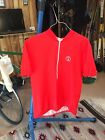 Vintage Large Schwinn Red Cycling Jersey made in Italy Stingray S