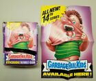 Garbage Pail Kids Series 14 Box 48 Unopened Wax Packs with Promo Store Poster