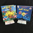 Pac Man Miss Pac Man Kid Stuff Coloring Read Along Book & Recording Tape 2 CUT