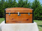 Antique Trunk Wonderful Restoration  Pat'd 1872  As Much As 146 Yrs Old!
