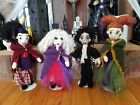 Crochet Hocus Pocus iDolls Sarah, Mary, and Winny Sanderson and Billy Butcherson