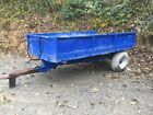 MF 4 ton tipping trailer