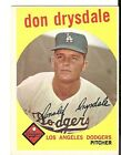Don Drysdale Cards and Autographed Memorabilia Guide 6