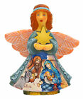The Holiday Aisle Christmas Tree Nativity Angel Hanging Figurine