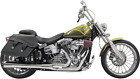 Bassani Chrome 2 1 Long Road Rage Exhaust for 08 17 Harley Breakout Rocker FXSB
