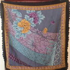 Square scarf Floral Scalloped edge Zozan Made in Turkey 38