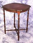Antique Side End Lamp Table Column Legs Pedestal Sofa Stand Coffee Desk Vintage