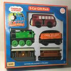 Thomas & Friends Wooden Railway - 5-CAR GIFT PACK - Learning Curve LC99098 new