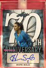2018 LEAF 70TH ANNIVERSARY AUTO: HOPE SOLO #1 1 OF AUTOGRAPH ESPN - BODY ISSUE