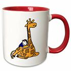 Symple Stuff Gerth Cute Kid Hugging Giraffe Love Coffee Mug