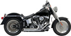 Bassani Chrome 2 2 Pro Street Exhaust for 86 17 Harley Softail FXST FXS FLSTN