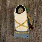 Baby Jesus Christmas Nativity Native Child Papoose Fabric Figurine Tribal Ethnic